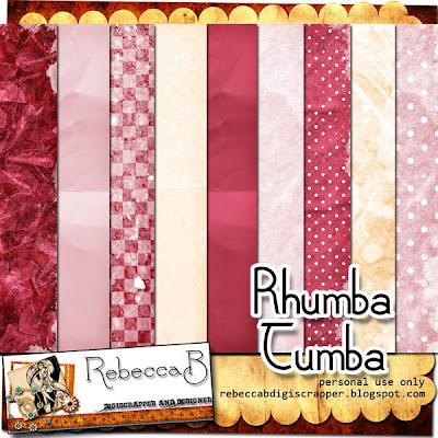http://rebeccabdigiscrapper.blogspot.com/2009/10/rhumba-tumba-kit-freebie.html