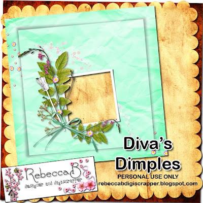 http://rebeccabdigiscrapper.blogspot.com/2009/11/divas-dimples-quickpage-freebie.html