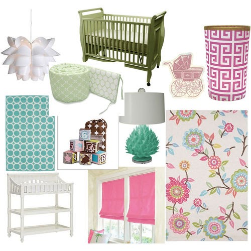Nursery Mood Board 2 Julia Ryan