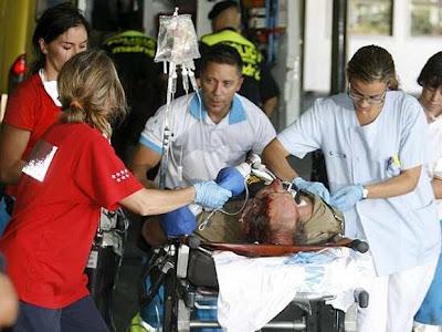 fotos de muertos en los peores accidentes: