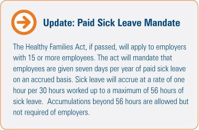sick, paid sick leave, employers