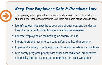workers compensation, insurance, safety, procedures
