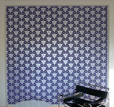 wallpaper design. Some fresh wallpaper designs at Wallpaper By Artists, I love Mai-Thu Perret