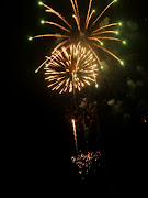 They even had heart shape fireworks and an American Flag fireworks, amazing!