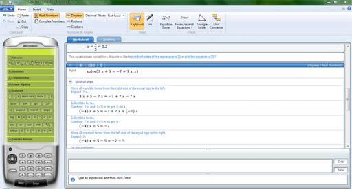Microsoft Mathematics 4.0