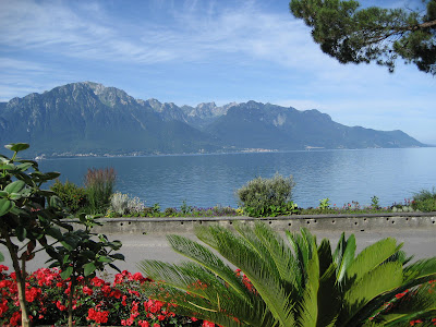 Castelul Chillon si Lacul Geneva