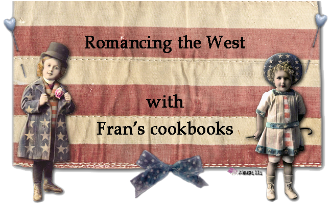 FRAN'S COOKBOOKS