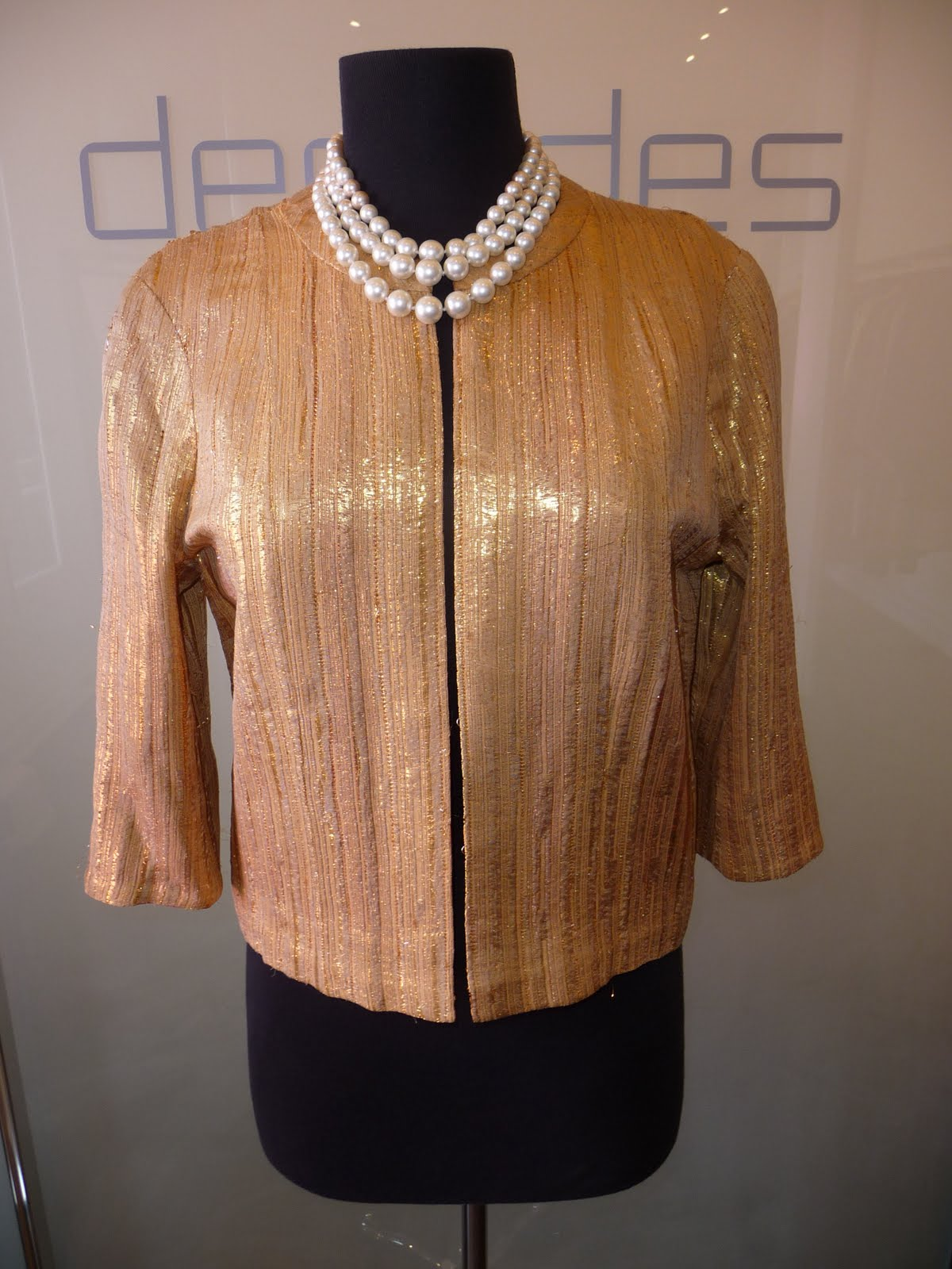 Decades inc november 2009 for Haute couture jacket
