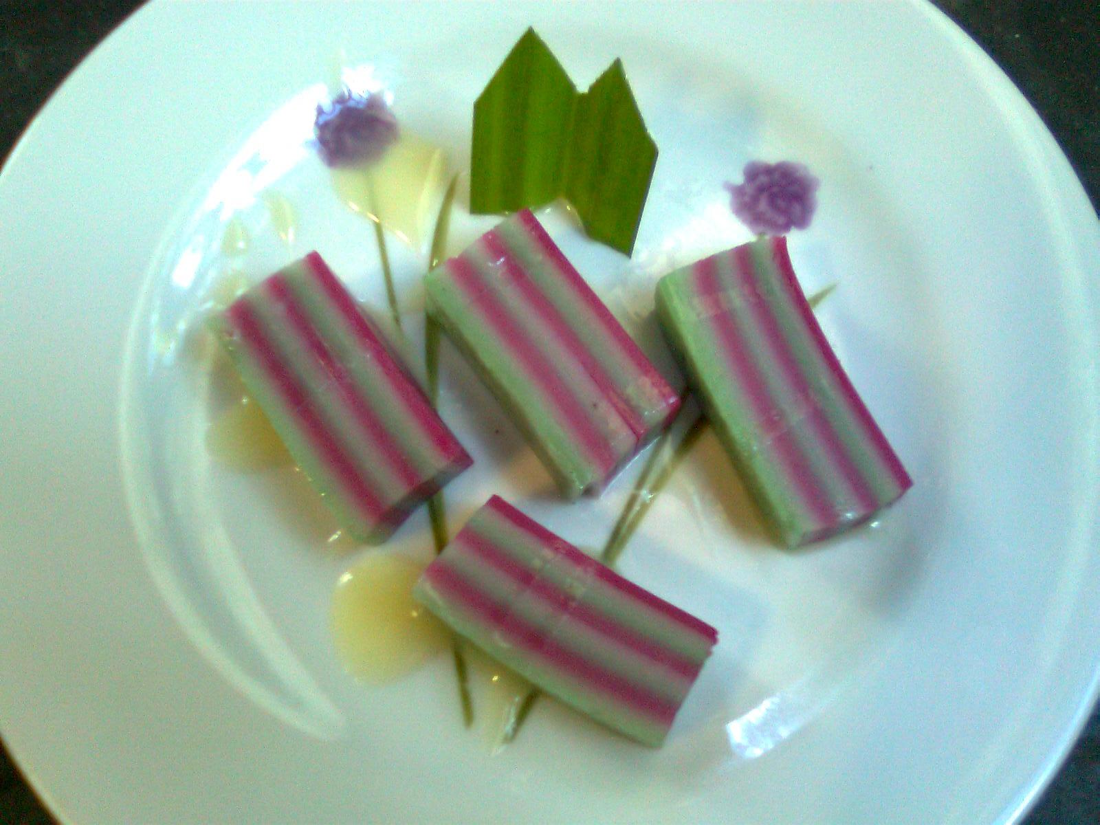 kue lapis tepung beras bahan 500 gram tepung beras rose brand 500 gram ...