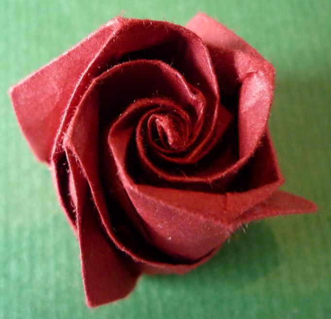 F ziegler origami nancy et autres billeves es bouton de rose for Pliage serviette bouton de rose