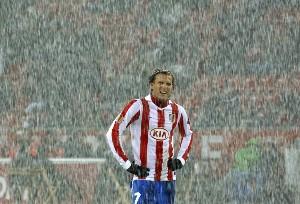 Spanish Soccer-DiegoForlan-2010