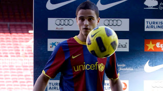 Affelley-FC-Barcelona-Spanish Soccer