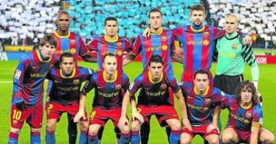 Spanish Football FC Barcelona