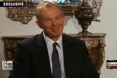 The Pre Iraq War Lies Conspiracy Conspiracy: Nice Try, Tony  TonyBlairNervousOnFoxNewsOverChilcottConspiracy