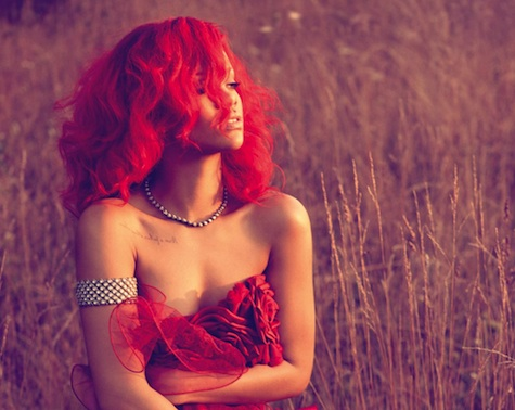 I must admit, I love Rihanna with short hair AND long hair.