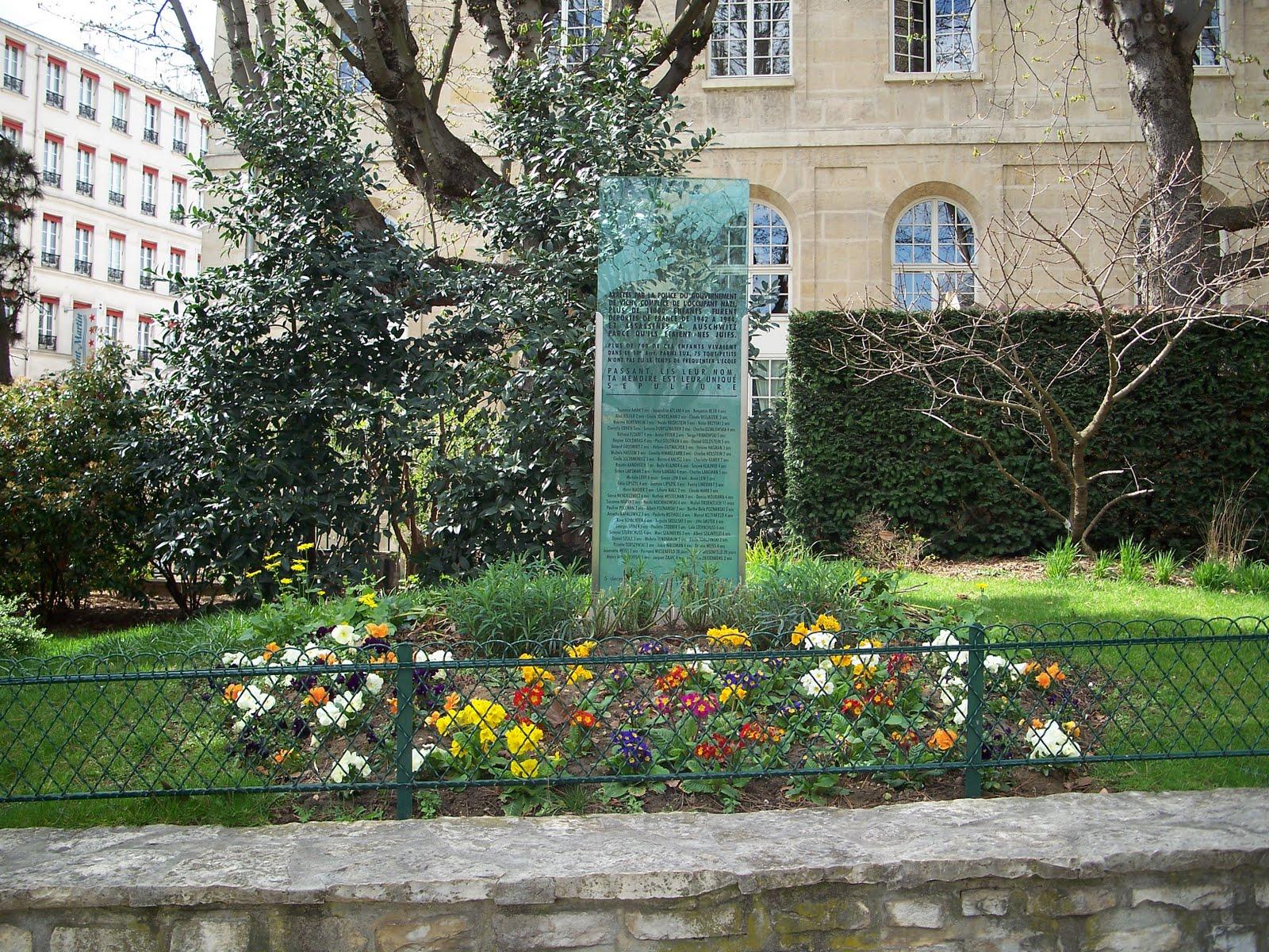 Life across the pond la vie juive in paris for Jardin villemin