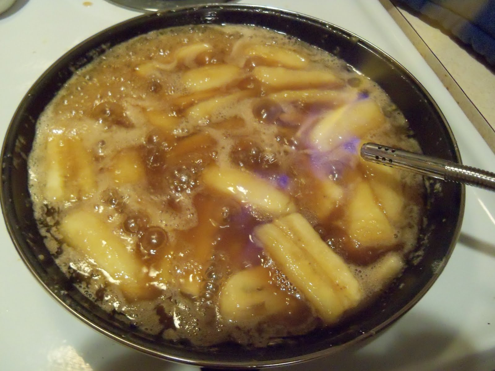 Kellie's Kitchen: Bananas Foster