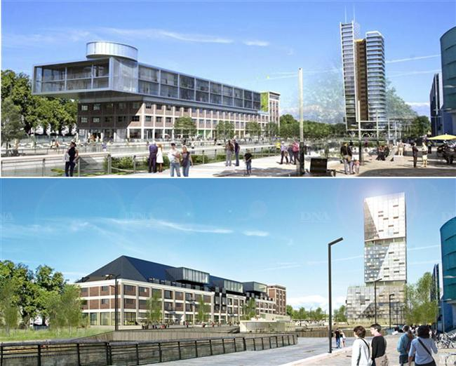 Ville hybride tour de la presqu 39 ile malraux l 39 un des for K architecture strasbourg
