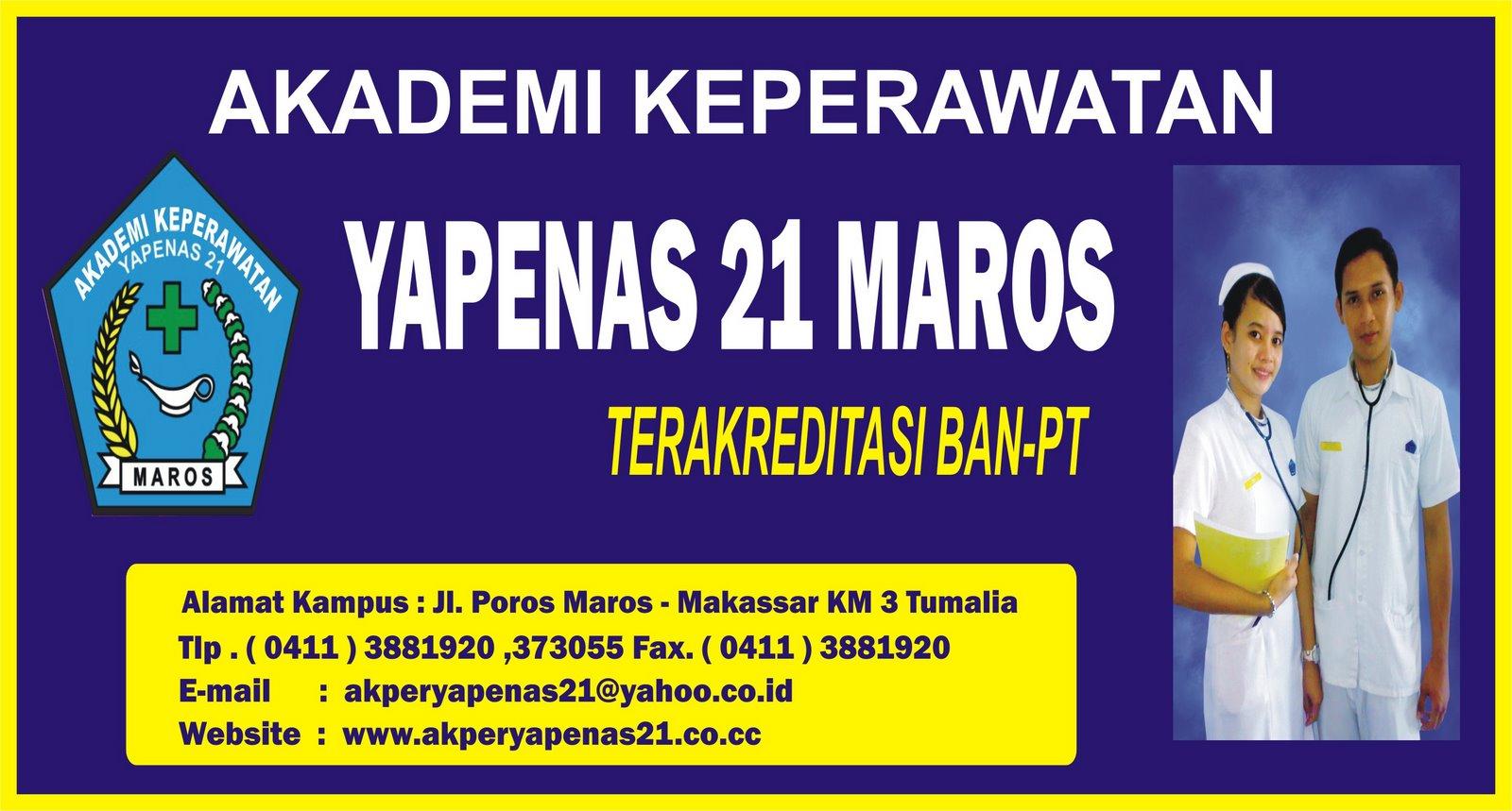 Akper YAPENAS 21 Maros