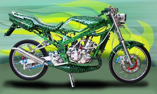 Kawasaki Ninja 150 full airbrush