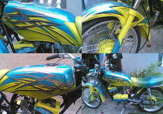 Modifikasi Motor Yamaha Rx King