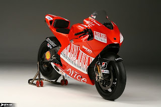 New Ducati desmosedici GP9