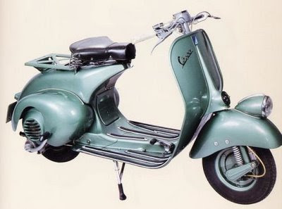 MODIFIKASI SCOOTER VESPA
