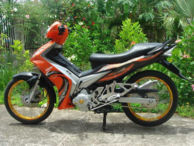 MotoMalaya  Yamaha Spark Sniper 135 LC  and Jupiter MX Modification