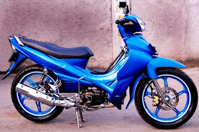 MODIFIKASI YAMAHA JUPITER Z 2008