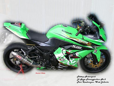 Picture of Gambar Modifikasi Kawasaki Ninja 250