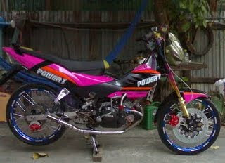 Honda Nova Sonic 125 RS Super Modification
