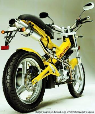 Motorcycle MINERVA 125CC Type MadAss Sachs   honda motorcycles