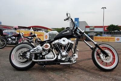 Modifikasi Motor Chopper Klasik