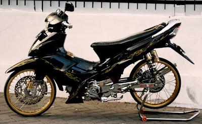 Modifikasi Suzuki Shogun Arashi