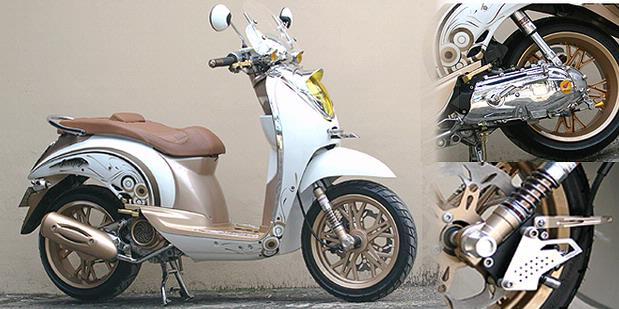 Honda Scoopy Modification