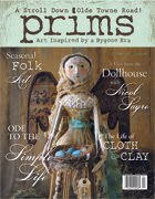 Stampington & Co. --  April 2010.  4 DOLLS featured.  3 One of a Kinds and 1 CHUNKY SANTA