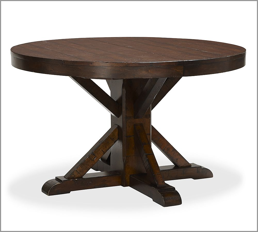 Dining Table: Pedestal Dining Table Expandable