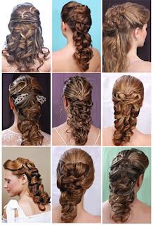 Bonit s peinados de noche for Imagenes semirecogidos