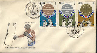 1974 aiba world championships stamp