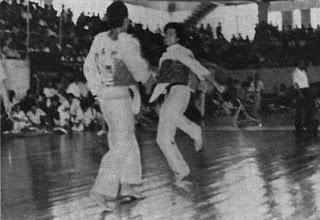 Ramiro Guzman vs Huang Chung Ming Taekwondo