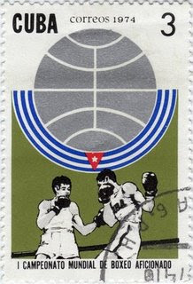 cuban boxing stamp
