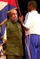 Teofilo Stevenson and Fidel Castro