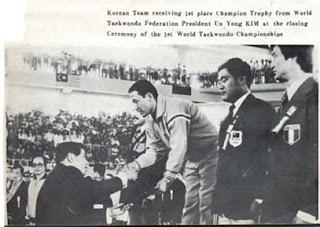 Taekwondo 1973 Un Yong Kim