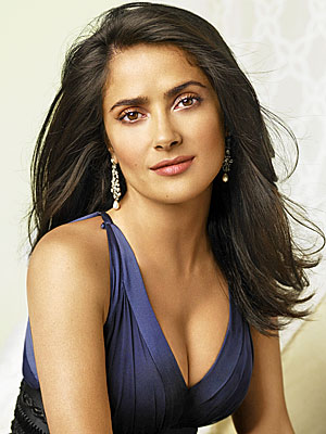 salma hayek husband and daughter. Cause, Salma asked