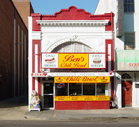 This is a photograph of Ben's Chili Bowl on U Street in Washington, D.C.
