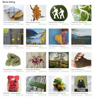 gone hiking etsy treasury east