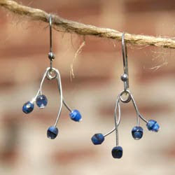 Blue Bells Earrings by TonyaUtkina