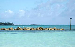 Blue Ocean at the Bahamas