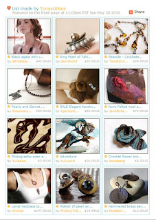 Chocolates Etsy Front Page