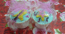Cupcake-Individual Packaging (Square Ribbon)